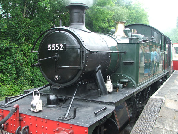 Steam Train in Bodmin